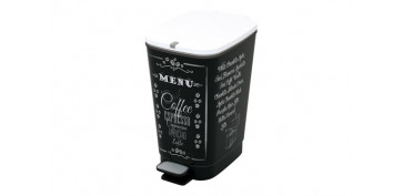 CUBO DECORADO CHIC BIN 35 L COFFEE M MENU