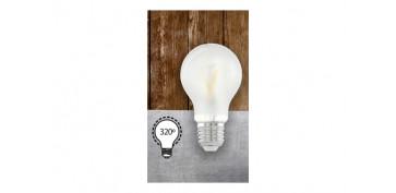 LAMPARA FILAMENTO LED STAND OPAL E27 6W LUZ CALIDA (3000K)