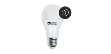 LAMPARA LED CON SENSOR CREPUSCULAR E27 7W 550LM LUZ BLANCA (5000K)
