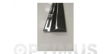 Burletes y tapajuntas - CUBREJUNTA CERAMICA PARKET INOX TORNILLO 83 CM-45X10 MM