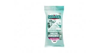Productos de limpieza - TOALLITAS DESINFECTANTES MULTIUSOS 24U