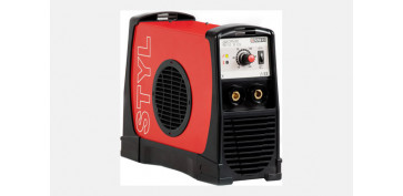 Soldadoras electricas e inverter - SOLDADOR INVERTER STYL 185 E + OPTIMATIC 55
