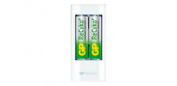 Pilas y baterías - CARGADOR USB 2 PILAS AA-AAA INCL. 2XAA 2100MAH