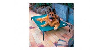 Productos para mascotas - CAMA MASCOTA \'L\' VERDE 130X80X20CM HASTA 45KG