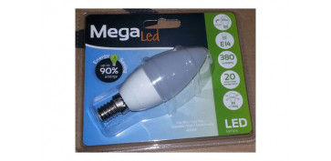 LAMPARA VELA LED E14 4,5W LUZ BLANCA