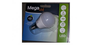 LAMPARA ESFERICA LED E14 4,5W LUZ BLANCA