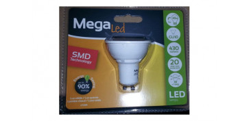 Cuidemos nuestro planeta - LAMPARA DICROICA SMD LED GU10 5W LUZ CALIDA