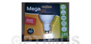 Cuidemos nuestro planeta - LAMPARA DICROICA SMD LED GU10 7W LUZ CALIDA