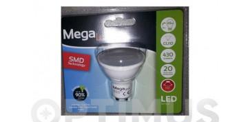 LAMPARA DICROICA SMD LED GU10 7W LUZ BLANCA