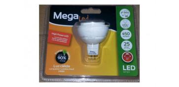 Cuidemos nuestro planeta - LAMPARA DICROICA SMD LED GU5,3 6W LUZ CALIDA