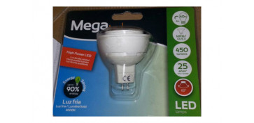 Cuidemos nuestro planeta - LAMPARA DICROICA SMD LED GU5,3 6W LUZ BLANCA
