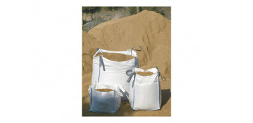 Recipientes de construccion - SACO ESCOMBROS BIG BAG100X90X90 CM BLANCO
