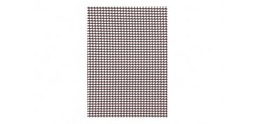 MALLA CUADRINET 05 (LUZ 4.5X5.5MM) PE 300GR/M2 1 X 5 MT MARRON