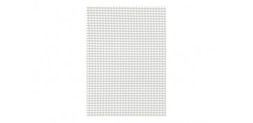 MALLA CUADRINET 05 (LUZ 4.5X5.5MM) PE 300GR/M2 1 X 5 MT BLANCO