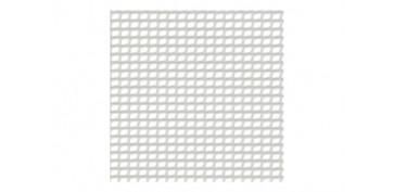 MALLA CUADRINET 12 (LUZ 12 X 11,5MM) PE 300GR/M2 1 X 5 MT BLANCO