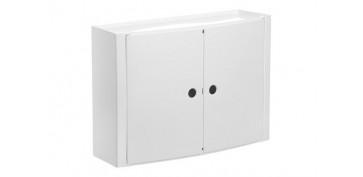 Mobiliario de baño - ARMARIO DE BAÑO HORIZONTAL BLANCO 46 X15,5 X 32 CM