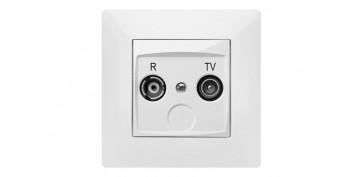 TOMA R-TV HABITAT15 BLANCO