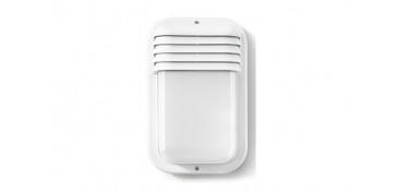 Iluminacion vivienda - APLIQUE ECOLED E-27 18W VERTICAL BLANCO