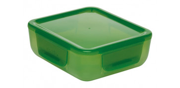 Reutilizable Eco-Friendly - CONTENEDOR PORTA ALIMENTOS0,7L-VERDE
