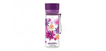 BOTELLA AVEO 0,35 L PURPLE GRAFICS