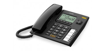 Telefonia - TELEFONO SOBREMESA CON DISPLAY T76 NEGRO