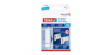 Adhesivos - TIRA POWERSTRIPS SMS REMOVIBLE AZULEJOS 3.0 KG BLISTER 9 UNIDADES