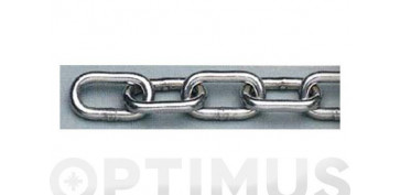 Cables y cadenas - CADENA DIN-766 INOX A4 4.0 MM