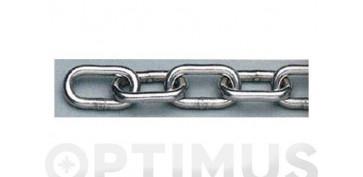 Cables y cadenas - CADENA DIN-766 INOX A4 5.0MM