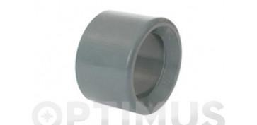 CASQUILLO REDUCIDO PVC PRESION 50-25