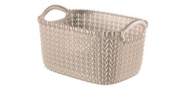 CESTA RECTANGULAR KNIT XS 3L ARENA