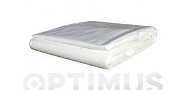 Toldos y plasticos protectores - TOLDO POLIETILENO STANDARD 90GR 3 X5 M BLANCO