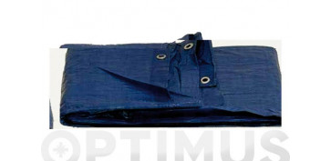 Toldos y plasticos protectores - TOLDO POLIETILENO STANDARD 120GR 8 X12 M AZUL