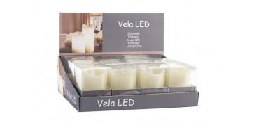Regalos - VELA LED PVC 7.5X12 CM