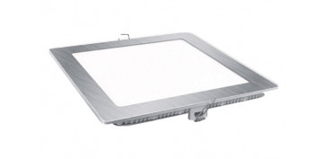 FOLLETO CALEFACCION 2020 - DOWNLIGHT LED EMPOTRAR PLATA CUADRADO 18 W1800 LM FRIA (6400K)