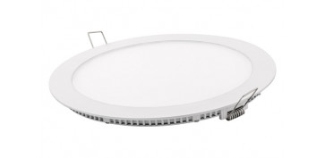 FOLLETO CALEFACCION 2020 - DOWNLIGHT LED EMPOTRAR BLANCO REDONDO 18 W 1800 LM FRIA (6400K)