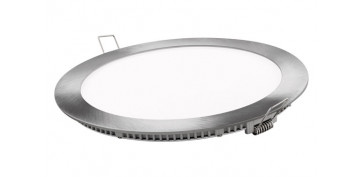 FOLLETO CALEFACCION 2020 - DOWNLIGHT PLANO REDONDO LED 18 WPLATA 1800LM LUZ DIA (6400K)
