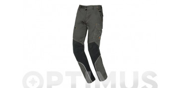 PANTALON STRETCH EXTREME GRIS ANTRACITA T M SLIM FIT