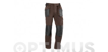PANTALON FLEX MARRON T-XXL