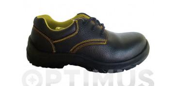Calzado de seguridad - ZAPATO DE PIEL BASIC R METAL FREE 44-S1P