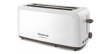 Electrodomesticos de cocina - TOSTADOR DOS RANURAS LARGAS BLANCO-1450W