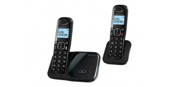 Electronica - TELEFONO INALAMBRICO DECT TECLAS GRNDES DUO-NEGRO