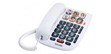 Telefonia - TELEFONO FIJO TECLAS GRANDES MEMO DR BLANCO