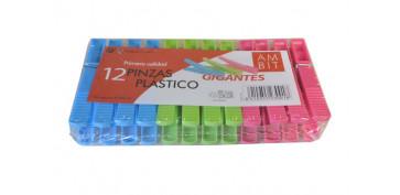 Textil y costura - PINZA PLASTICO 12 UN GIGANTE STYL