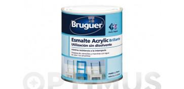 Esmaltes - ESMALTE ACRYLIC BRILLANTE 1001 0,250 BLANCO PERMANENTE