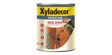 Proteccion y tratamiento para madera - PROTECTOR MATE EXTRA 3EN1 0,750L CAOBA