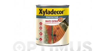 Proteccion y tratamiento para madera - PROTECTOR MATE EXTRA 3EN1 0,750L CASTAÑO