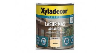 Proteccion y tratamiento para madera - LASUR EXTRA SATINADO AQUATECH 0,750L INCOLORO