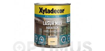 Proteccion y tratamiento para madera - LASUR EXTRA SATINADO AQUATECH 0,750L NOGAL