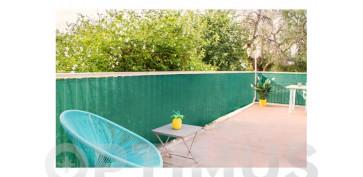 Cercado y ocultacion jardin - MALLA OCULTACION MAXIMA 160GR/M2 MESHNET 1,5X3 MT VERDE OLIVA