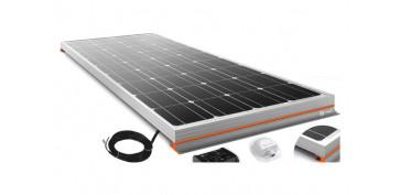 Generacion energia solar y eolica - KIT CARAVANING SOLARVANN+ 100WCON ACCESORIOS
